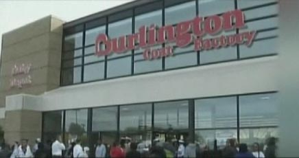 Rioting breaks out at Burlington Coat Factory after lottery hoax